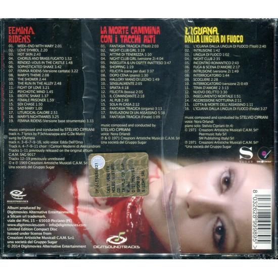 STELVIO CIPRIANI 3CD BOX (SEALED - 3CD)