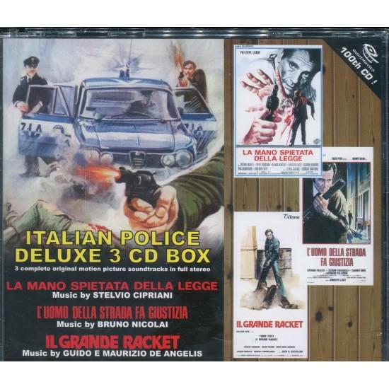 ITALIAN POLICE DELUXE 3 CD BOX (Sealed)