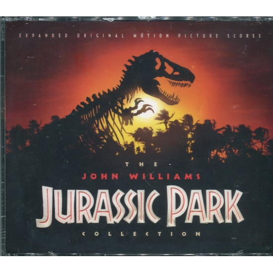 JURASSIC PARK COLLECTION (4 CD - SEALED)