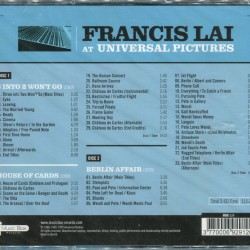 FRANCIS LAI AT UNIVERSAL PICTURES (SEALED)