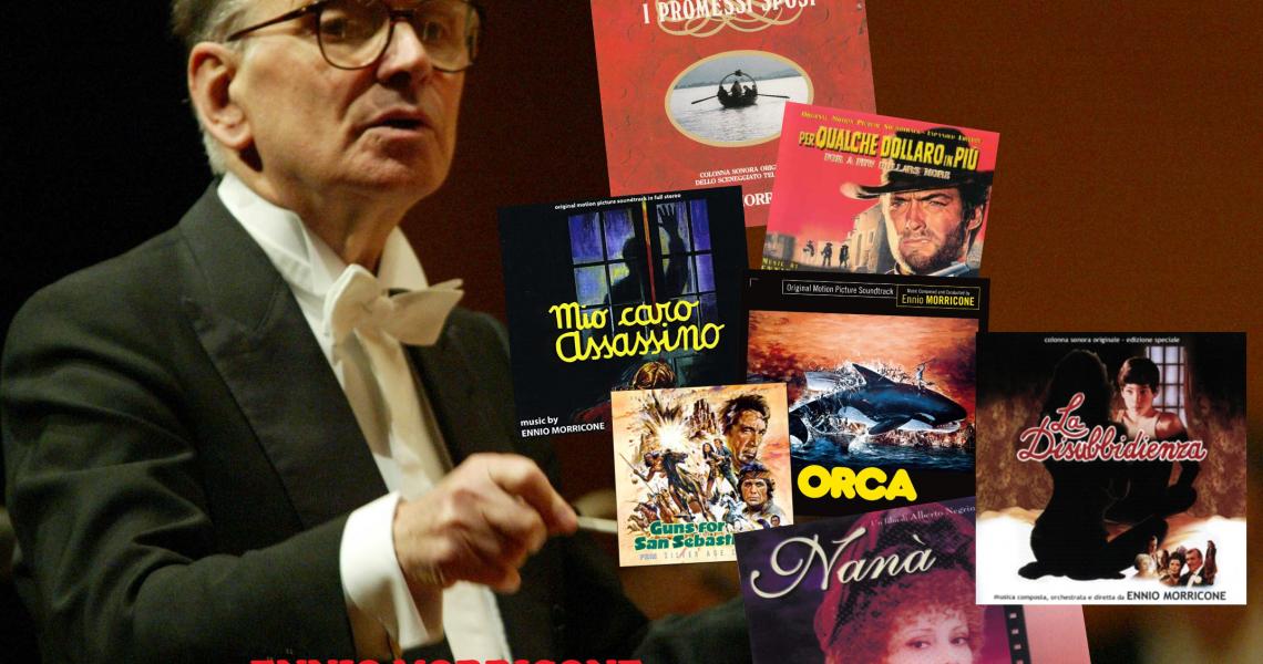 ENNIO MORRICONE RARITIES ON CD
