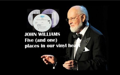 JOHN WILLIAMS - FIVE AND ONE PLACES IN OUR VINYL HEART